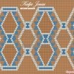 Wayuu Çanta Taban Şemaları 17
