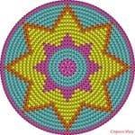 Wayuu Çanta Taban Şemaları 2