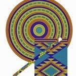 Wayuu Çanta Taban Şemaları 36