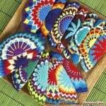 Wayuu Çanta Taban Şemaları 40