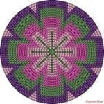 Wayuu Çanta Taban Şemaları 5
