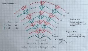 Yabani Buğday Şal Modeli Yapılışı 1