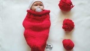 Yeni Doğan Koza Battaniye Yapımı