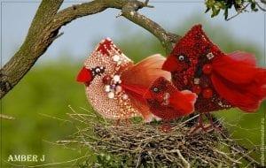 Boncuktan Kuş Yapımı 4