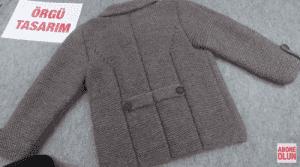 Erkek Çocuğu Örgü Ceket Modelleri 1