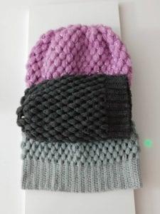 Fıstıklı Şapka Yapılışı 6