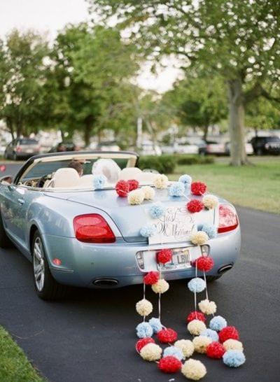 Gelin Arabası Süsleme Modelleri 29