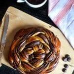 Örgülü Ekmek Tarifi 9