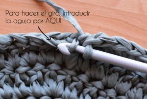 Penye İpten Sepet Yapımı Basit 1