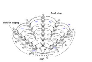 Tığ İşi Örgü Kelebek Yapımı 41
