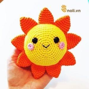 Amigurumi Güneş Yapımı 2