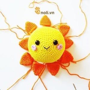 Amigurumi Güneş Yapımı 3