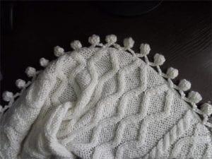 Battaniye Kenarı Süsleme 17