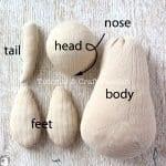 Çoraptan Kanguru Yapımı 22