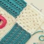 Halkalı Bebek Battaniyesi Yapılışı 7