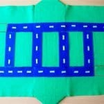 Keçeden Oyun Evi Battaniye Yapımı 11