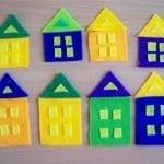 Keçeden Oyun Evi Battaniye Yapımı 12