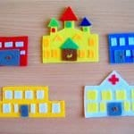 Keçeden Oyun Evi Battaniye Yapımı 13