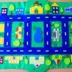 Keçeden Oyun Evi Battaniye Yapımı 18