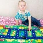 Keçeden Oyun Evi Battaniye Yapımı 1