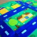 Keçeden Oyun Evi Battaniye Yapımı 20