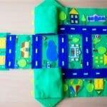 Keçeden Oyun Evi Battaniye Yapımı 28