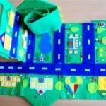 Keçeden Oyun Evi Battaniye Yapımı 31