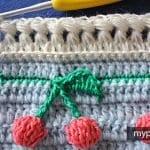 Kirazlı Battaniye Yapılışı 26