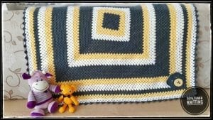 Kolay Bebek Battaniyesi Tığ İşi 1