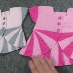 Lolipop Kız Çocuk Yeleği Yapılışı 4