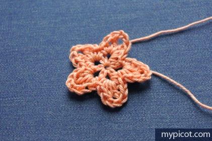 Örgü Çiçek Buketi Yapımı 42