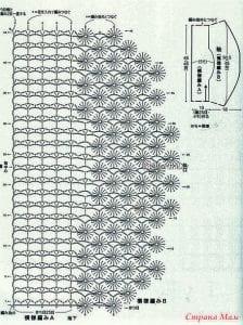 Şemalı Ajur Örgü Tekniği Modelleri 3