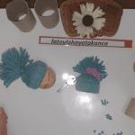 Tuvalet Kağıdı Rulosundan Anahtarlık Yapımı