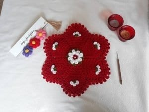 Çiçekli Lif Yapımı 1