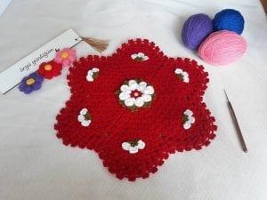 Çiçekli Lif Yapımı