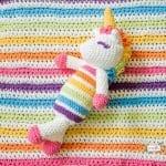 Kadife İple Amigurumi Unicorn Yapımı 12