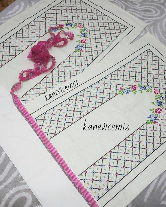 Kanaviçe Seccade Örnekleri 99