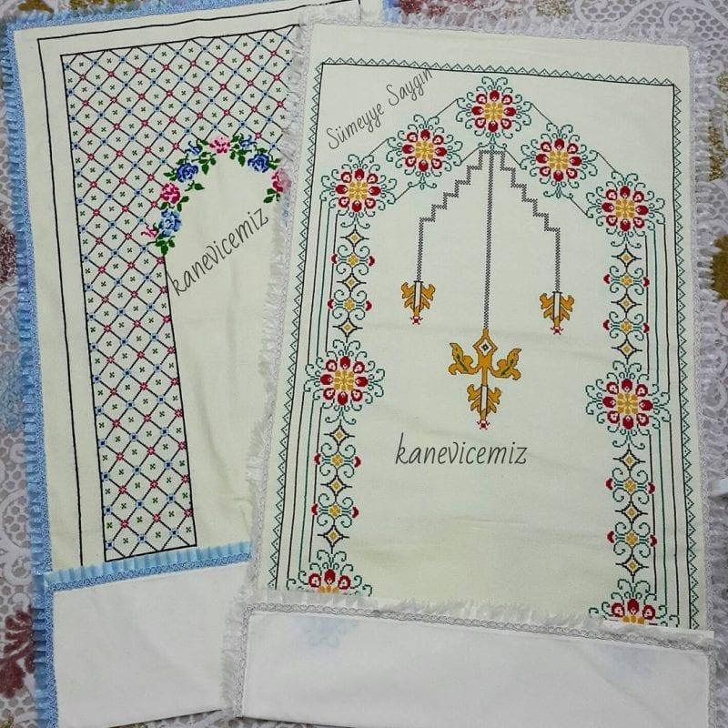 Kanaviçe Seccade Örnekleri 65