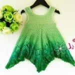 Çocuk Elbiseleri Örgü Modelleri 8