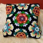 Frida'nın Çiçekleri Battaniye Yapılışı 10