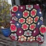 Frida'nın Çiçekleri Battaniye Yapılışı 12