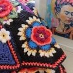 Frida'nın Çiçekleri Battaniye Yapılışı 13