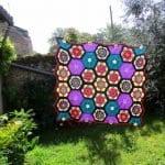 Frida'nın Çiçekleri Battaniye Yapılışı 14