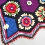 Frida'nın Çiçekleri Battaniye Yapılışı 15