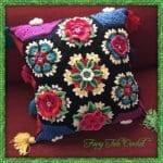 Frida'nın Çiçekleri Battaniye Yapılışı 16