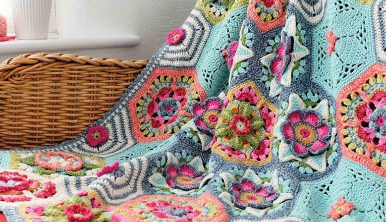 Frida'nın Çiçekleri Battaniye Yapılışı 17
