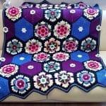 Frida'nın Çiçekleri Battaniye Yapılışı 18