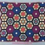 Frida'nın Çiçekleri Battaniye Yapılışı 19