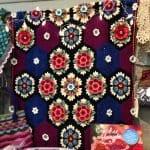 Frida'nın Çiçekleri Battaniye Yapılışı 22