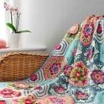 Frida'nın Çiçekleri Battaniye Yapılışı 25